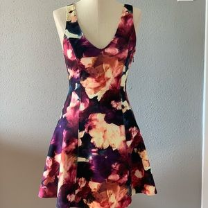 N Abercrombie & Fitch Floral Dress Cute Dress